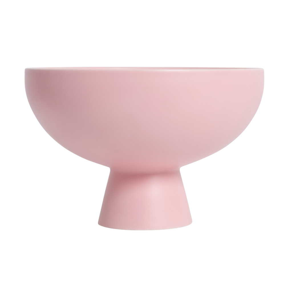 Large Raawii Strom Bowl in Powder Pink