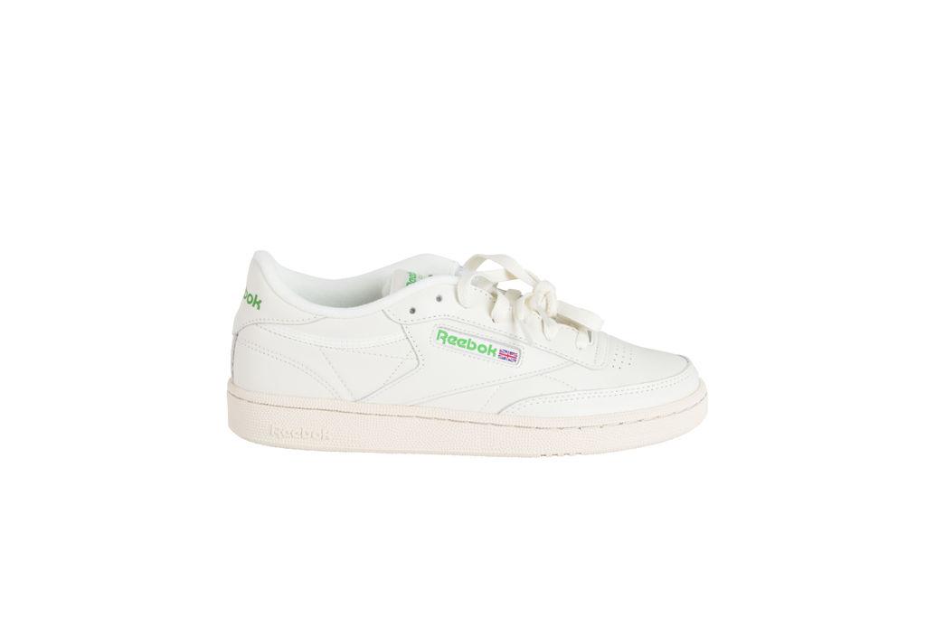Reebok Club C 85 Sneaker- Cream/Green