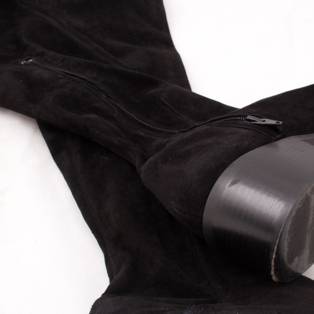 & Other Stories Suede Over Knee Boot