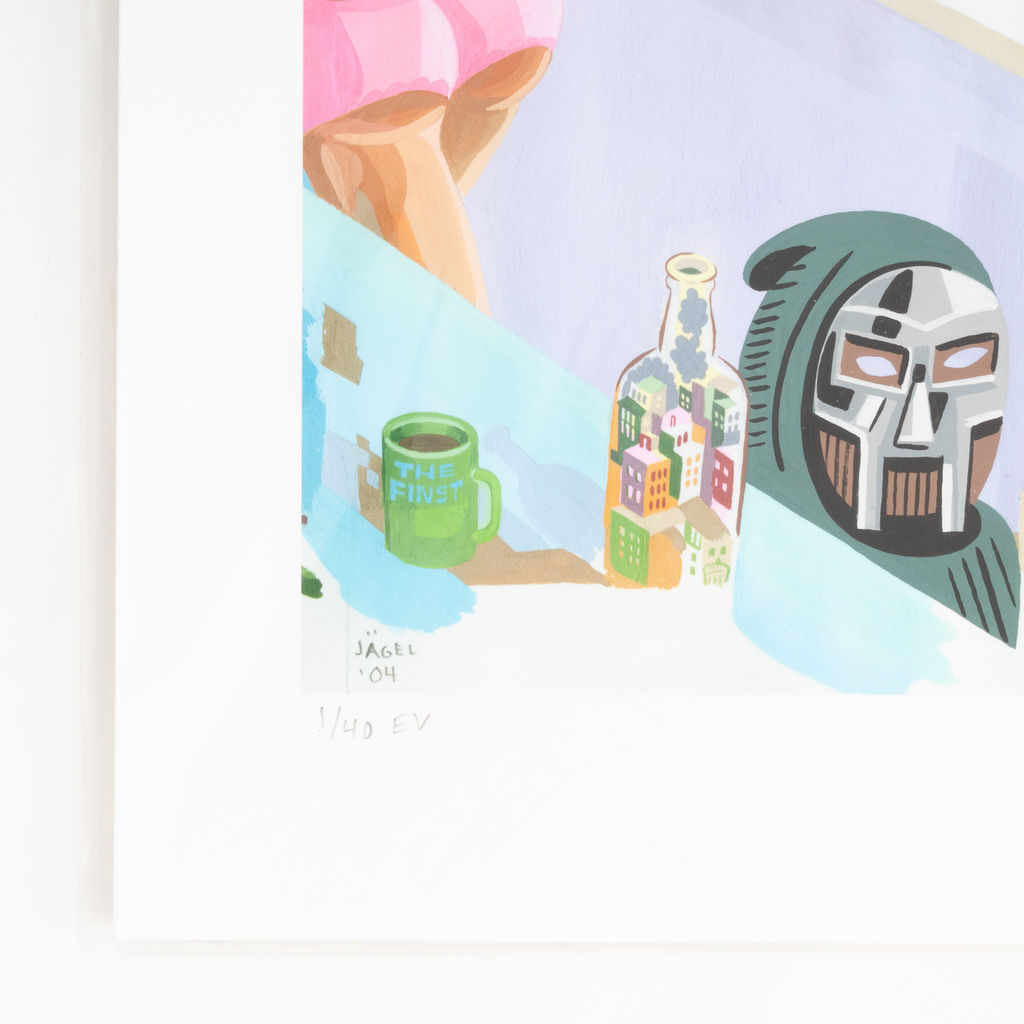 Jason Jagel x MF Doom Print