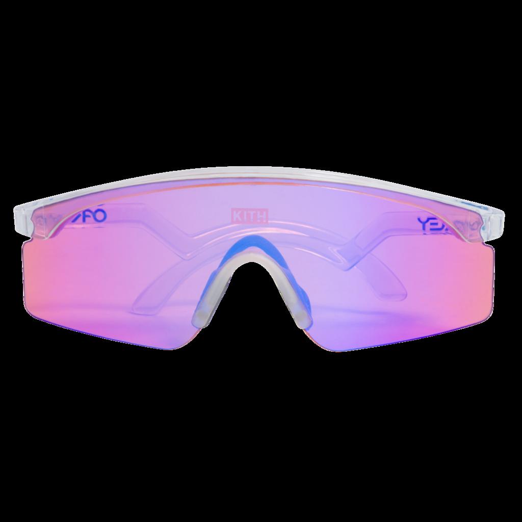 KITH x Oakley Razor Blade Sunglasses in Pink