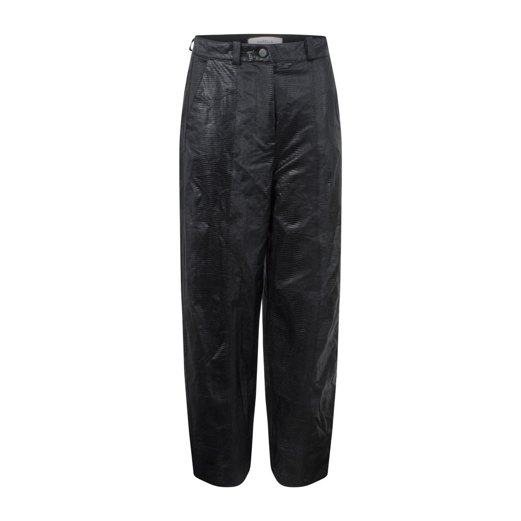 Marellla Faux Leather Trousers