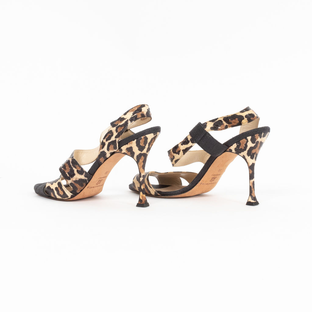 55bdc9c3a21 Brian Atwood Leopard Print & Snakeskin Heels | Basic Space