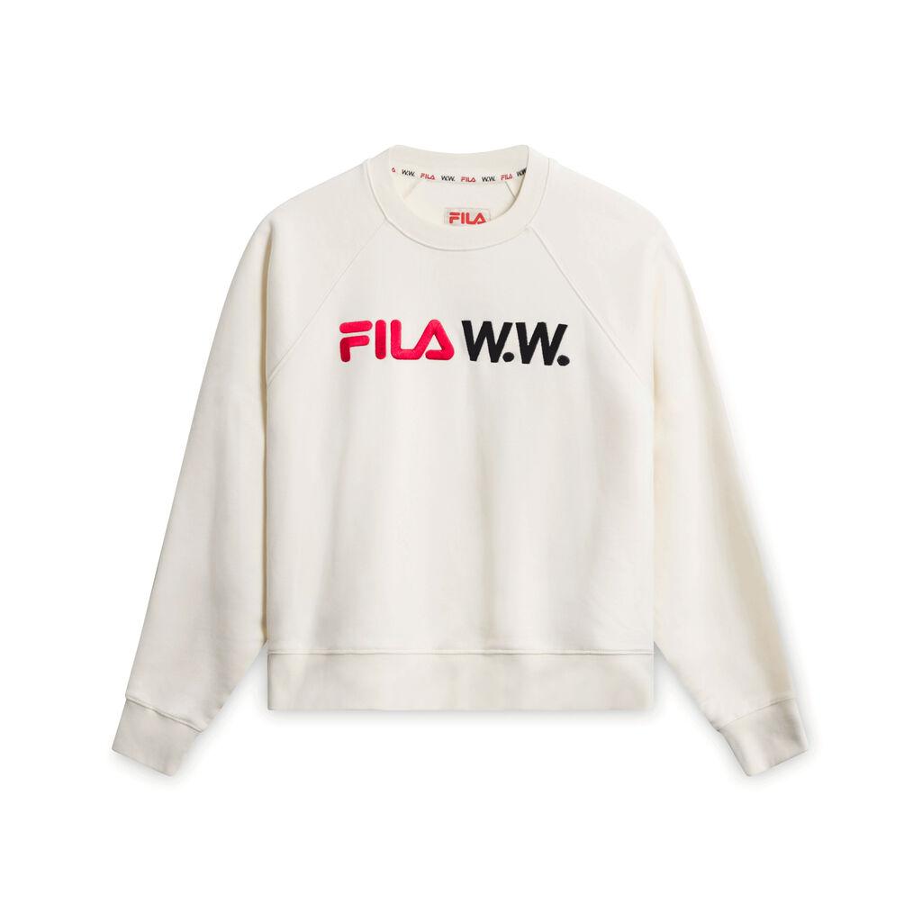 FILA W.W. Cream Colored Crewneck