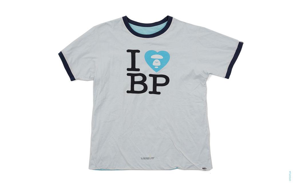 I Heart BP Reversible Pocket Ringer Tee light_blue navy