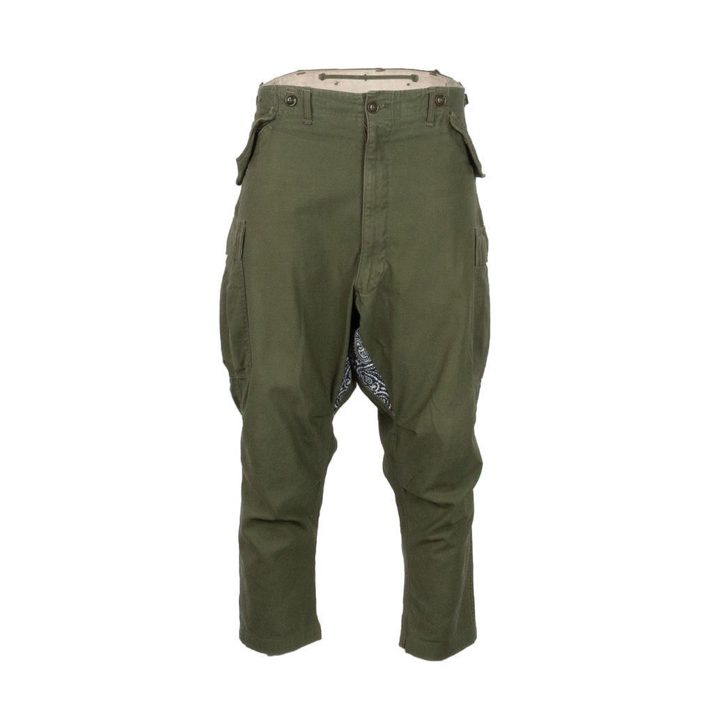 RTH Bandana Gusset Cargo Pants