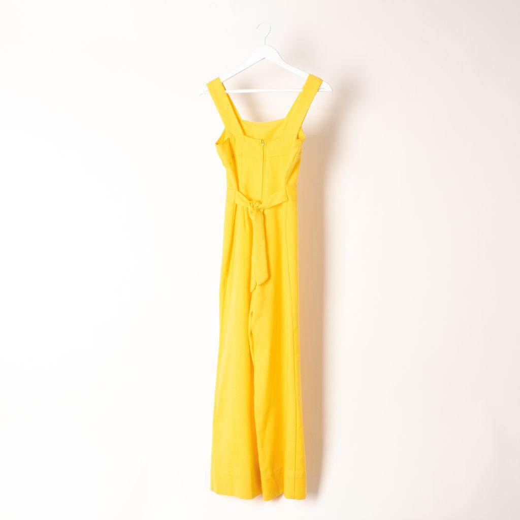 Vintage Yellow Jumpsuit