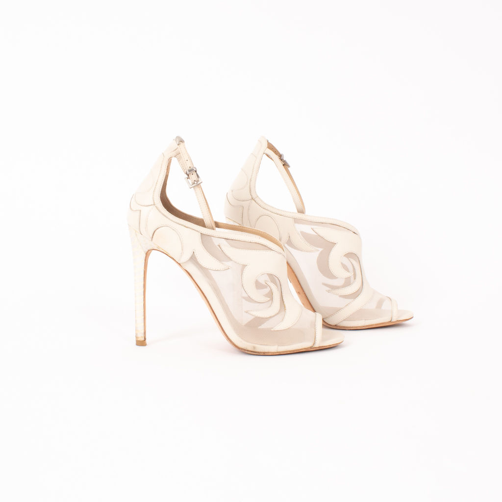Brian Atwood Linscott Scrolled Pumps