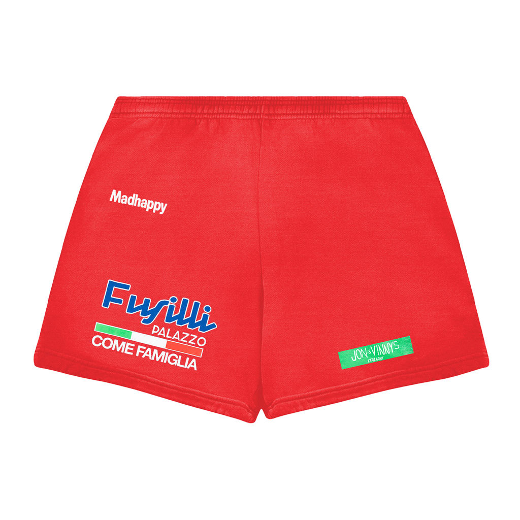 Madhappy x Jon & Vinny's Shorts- Red