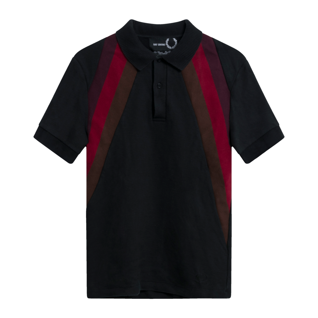 Fred Perry x Raf Simons Stripe Knit Polo