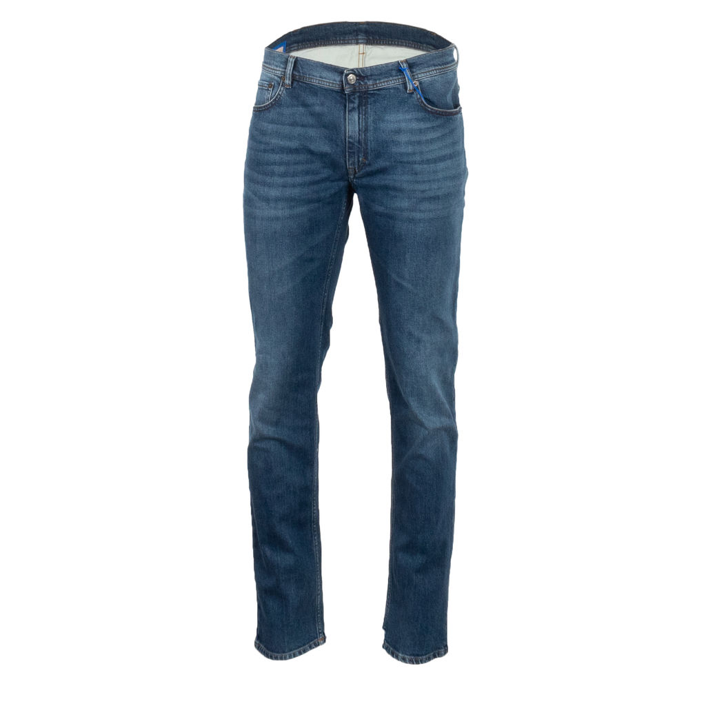 Acne Studios North Mid Blue Skinny Jeans