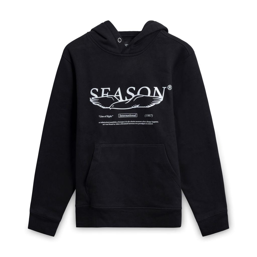 Season International Hoodie- Black