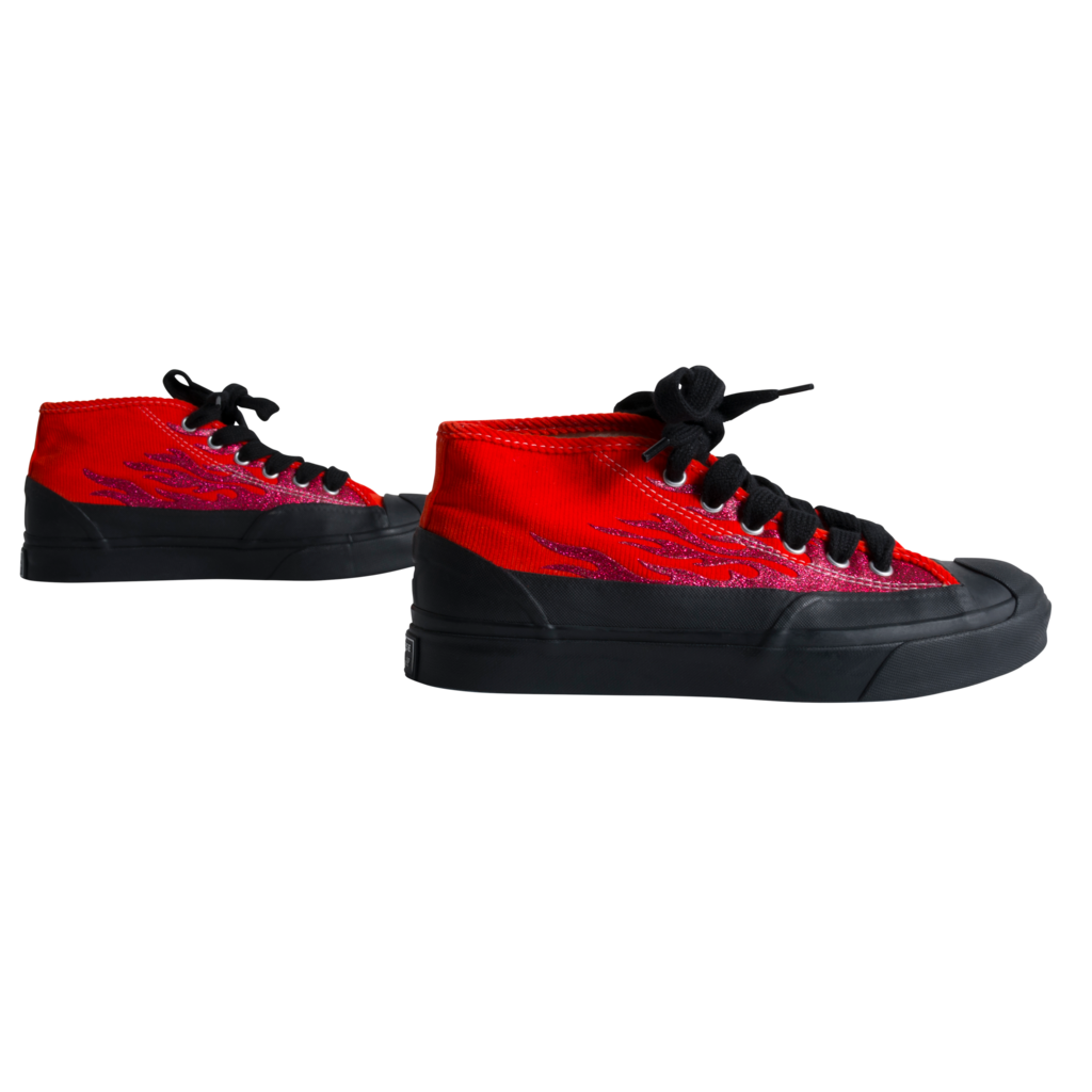 Converse x A$AP Nast Jack Purcell Chukka Sneakers  - Tomato
