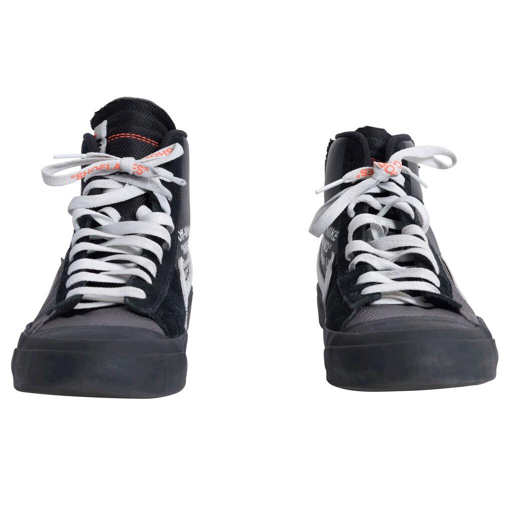 "OFF-WHITE x Nike Blazer Mid ""Grim Reaper"" High-Tops"