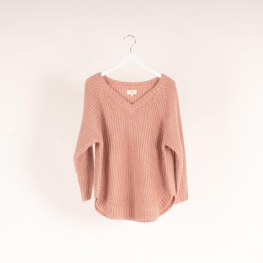 Lou & Grey Chevron Tunic Sweater