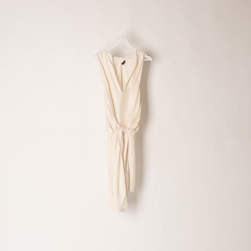 Loewe Sleeveless Tie Front Dress