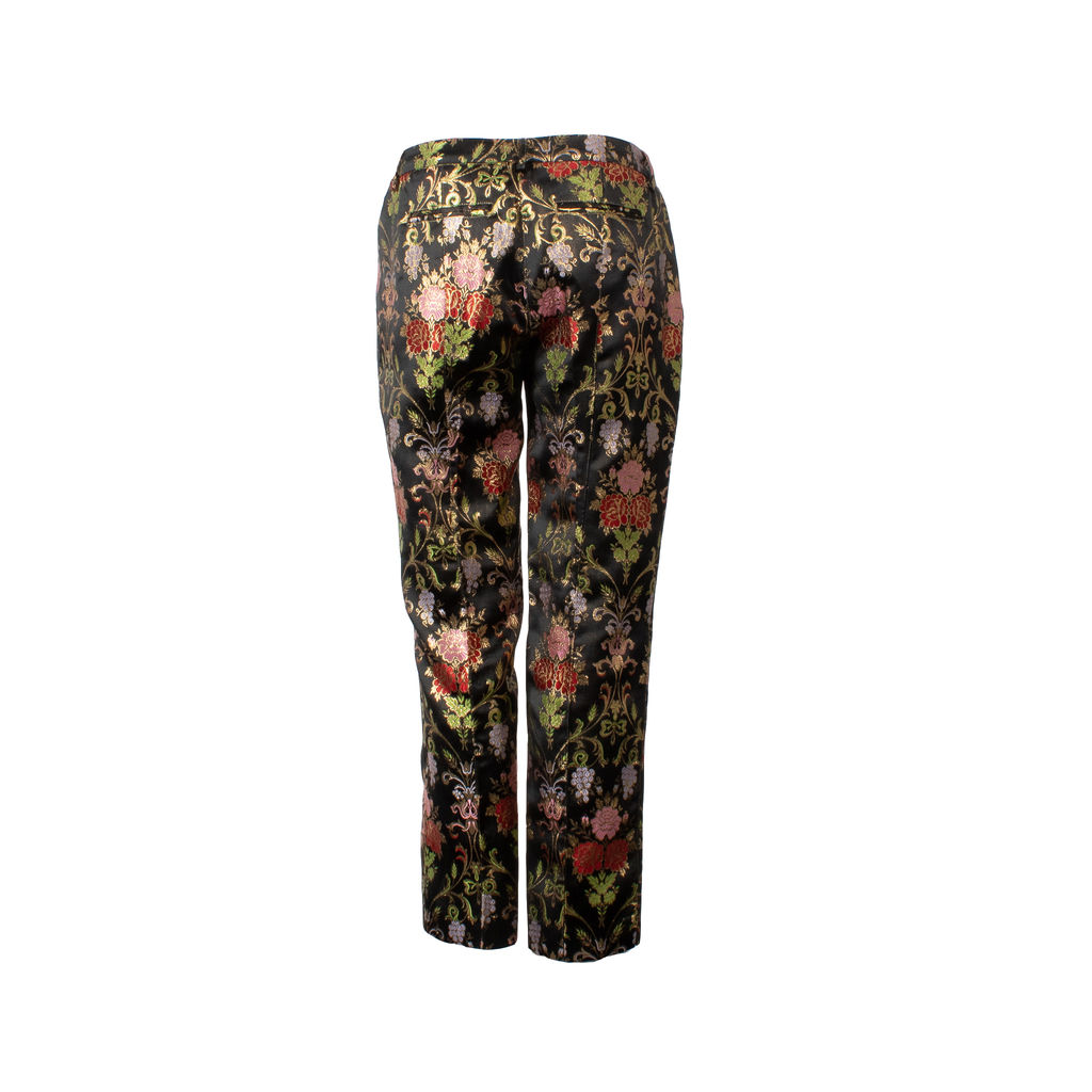 Tres Chic S.A.R.T.O.R.I.A.L. Floral Embroidered Trousers