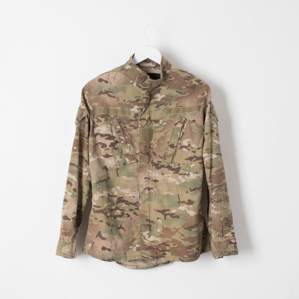 Vintage Ripstop Military Jacket