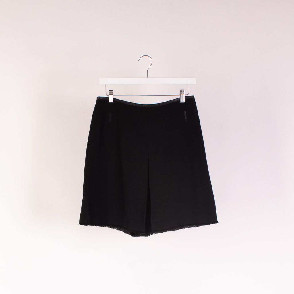 Coach Inverted Pleat Skirt