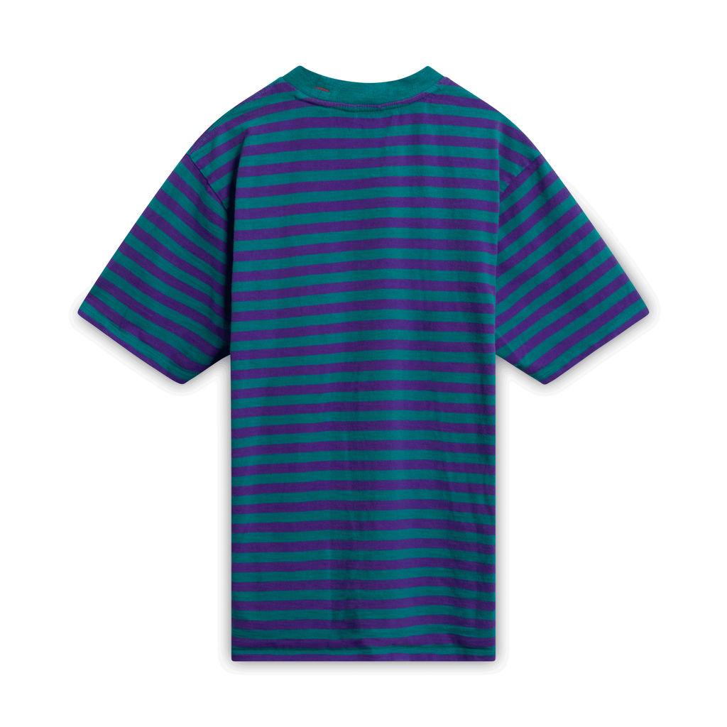 ASAP Rocky x Guess Jeans Striped T-Shirt - Purple/Green