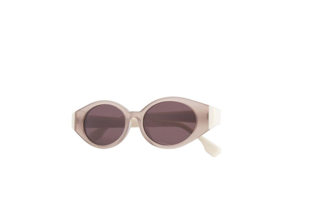 Le Specs Le Ovoid Oval Sunglasses