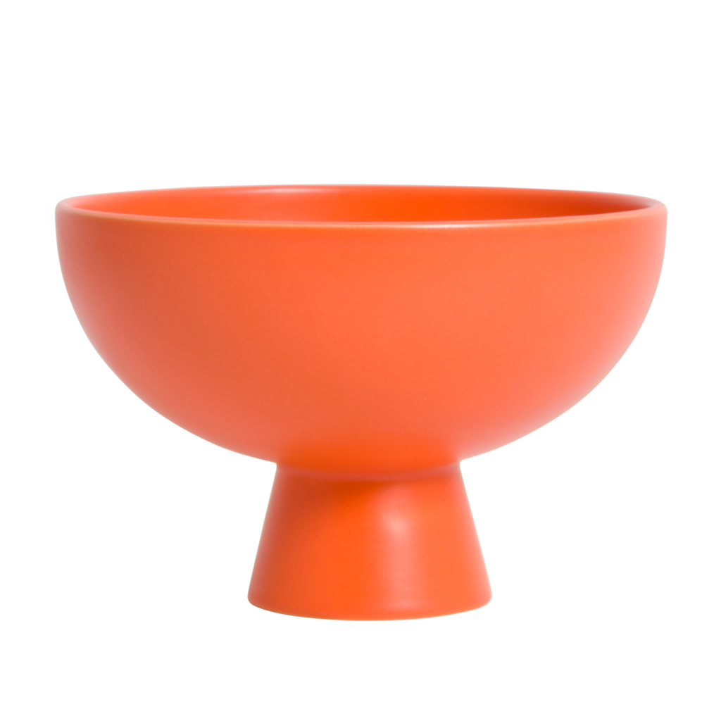 Small Raawii Strom Bowl in Vibrant Orange