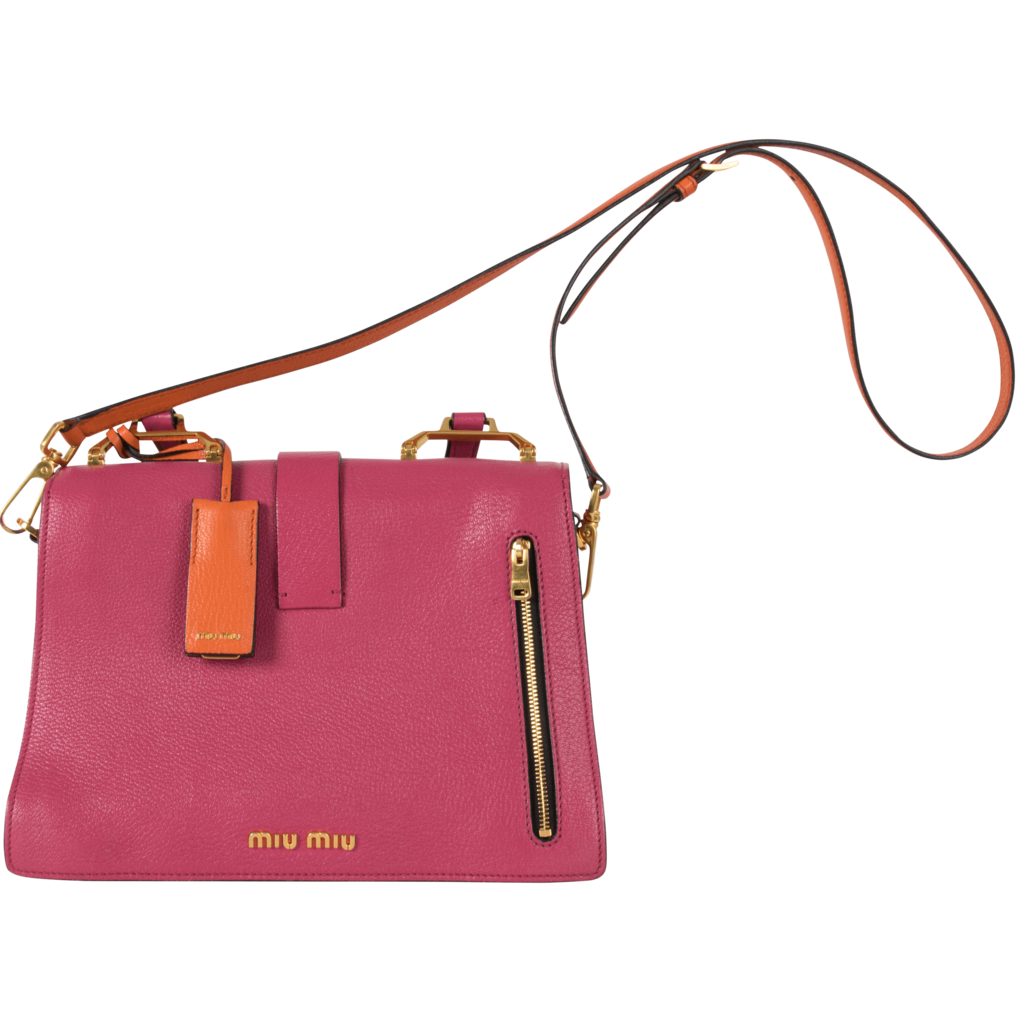 Miu Miu Colorblock Handbag