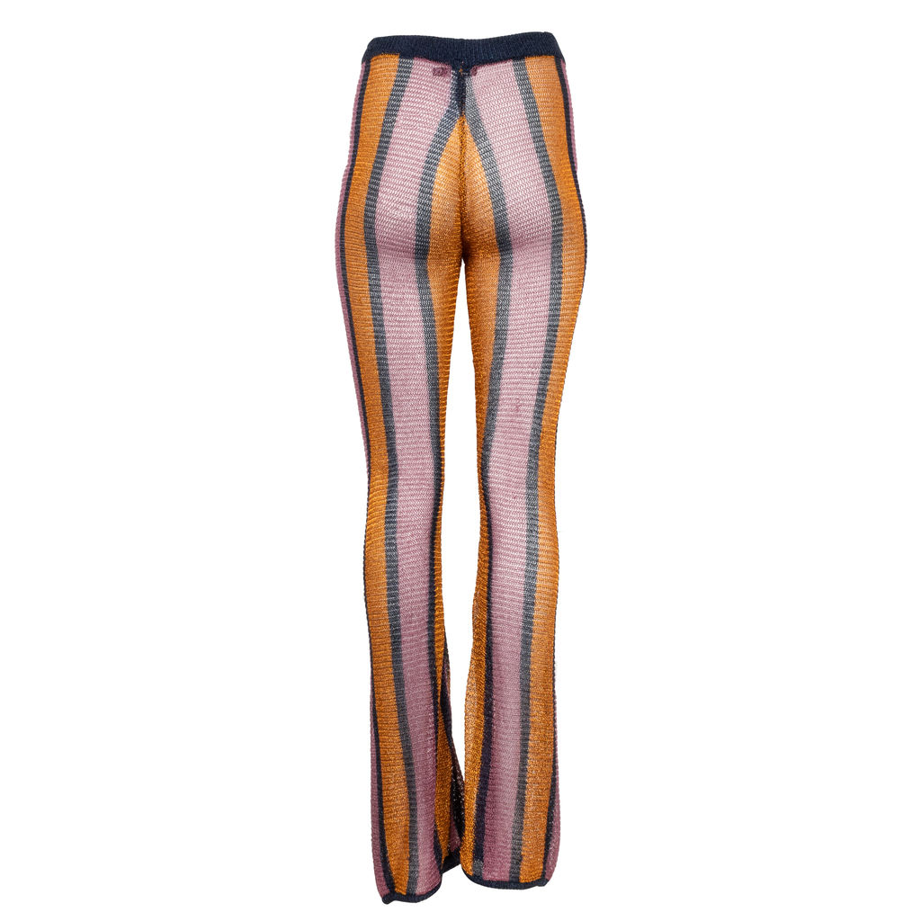 Nasty Gal Studio Supernova Stripe Flare Pants