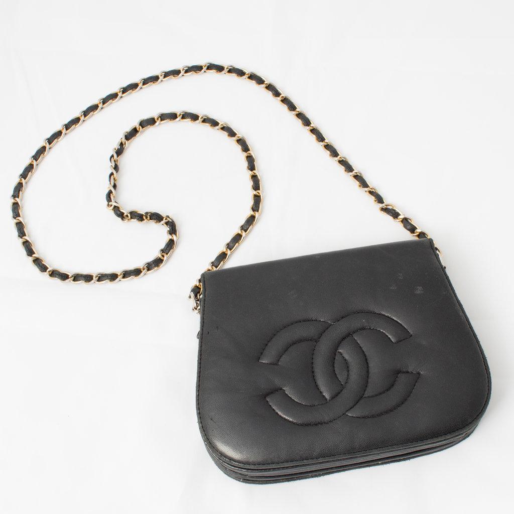 Vintage Chanel Accordion Bag curated by Sophia Amoruso
