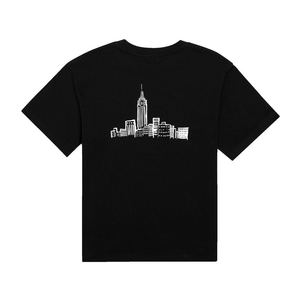 KROST x Barneys Cityscape Tee in Black