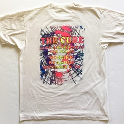 Vintage 1989 The Cure Los Angeles Dodger Stadium With The Pixies And Love And Rockets Tour Band Tee Shirt  curated by Scott Hopkins