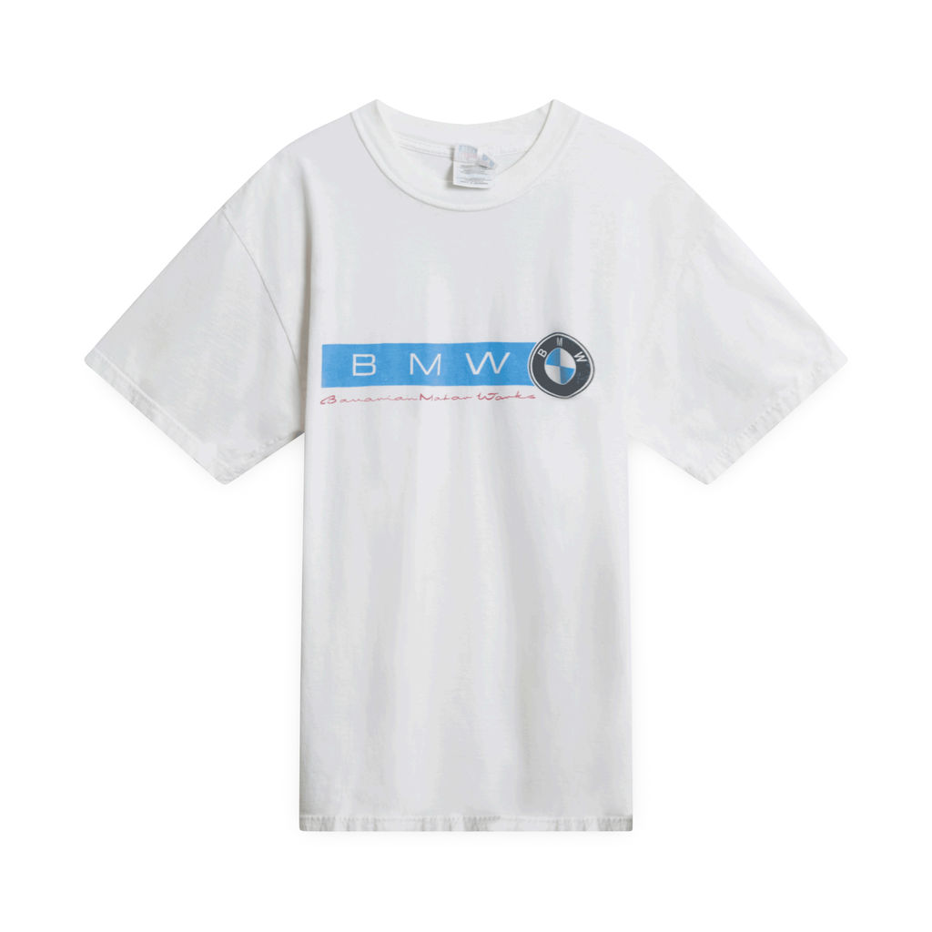 BMW Text T-Shirt (White)