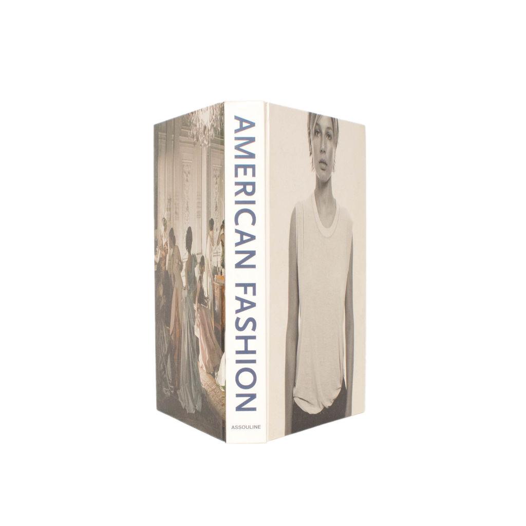 American Fashion Coffee Table Book